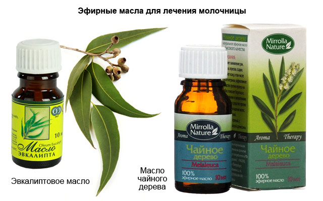 эфирные масла для лечения молочницы