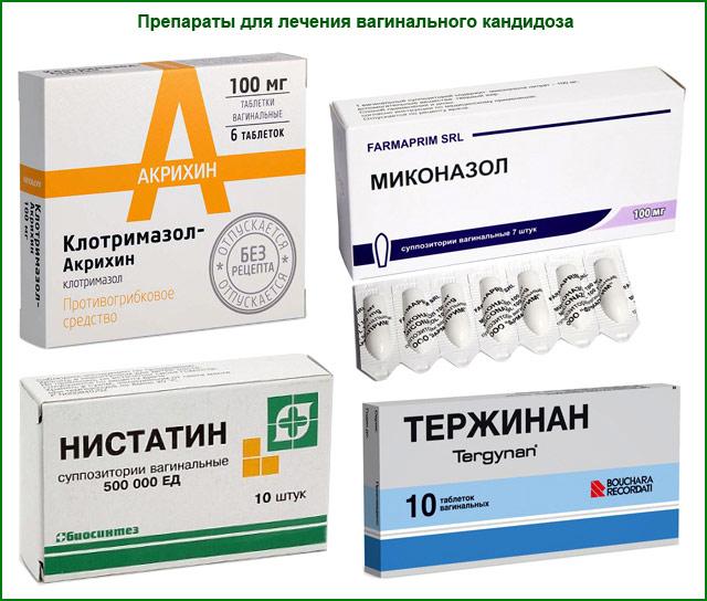 препараты для лечения вагинального кандидоза