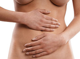 дискомфорт в животе при хронической молочнице