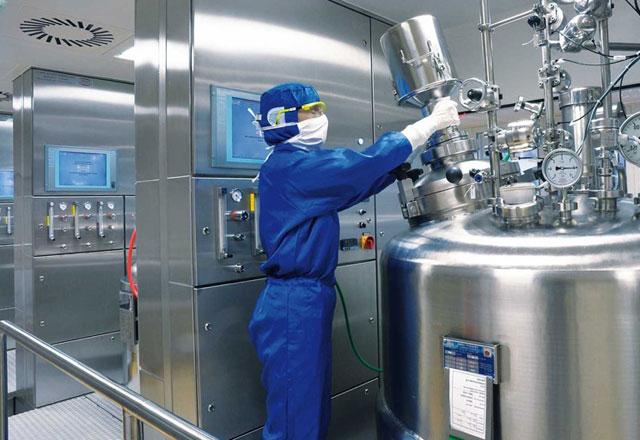 современное фармацевтическое производство