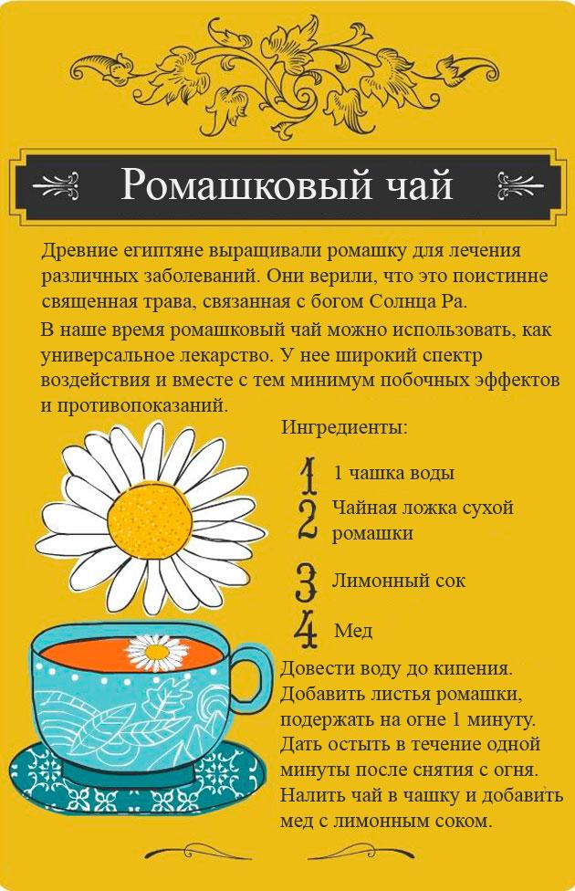 Как сделать ребенку ромашковый чай