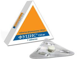 препарат фуцис, упаковка 1 таблетка